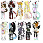 Anthro Adopts (CLOSED)