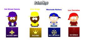 South Park :Saints Row Gangs