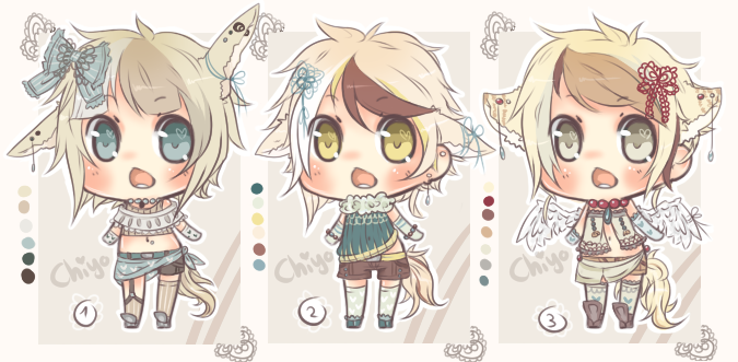 Emergency Adopts - Set [CLOSED] by Chi-Adopts-Yo