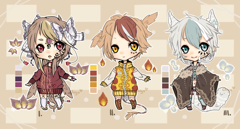 Emergency Adopts - Set 3 [Closed] by Chi-Adopts-Yo