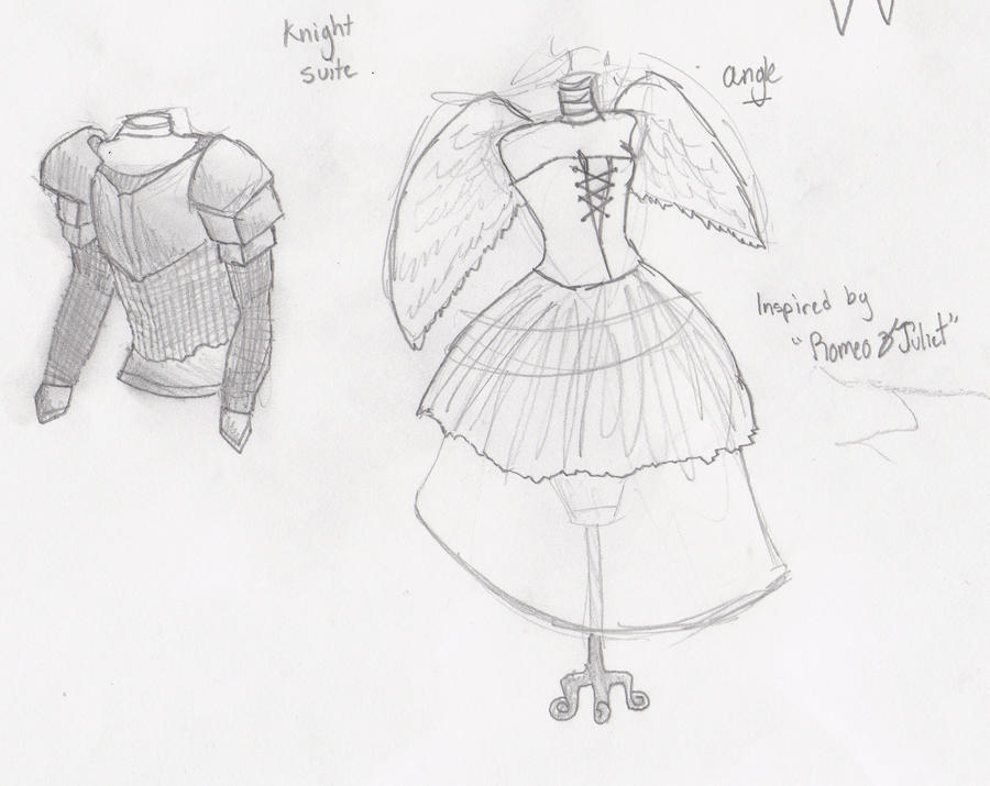 Romeo and Juliet Costumes by jackskellington778 on DeviantArt