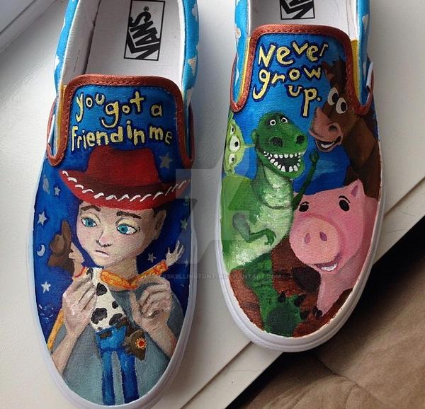Toy Story Shoes by jackskellington778