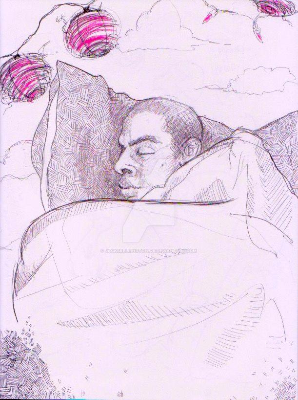 Sleeping Love by jackskellington778