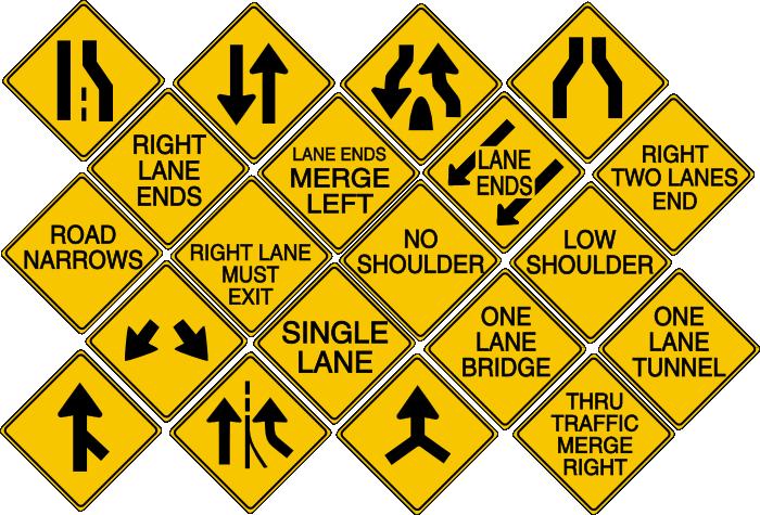 Diamond Warning Signs- Lanes by MetalPikachu3500 on DeviantArt