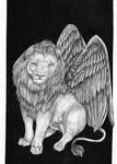Commission: Winged Lion