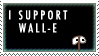 Wall-E stamp by noname4you