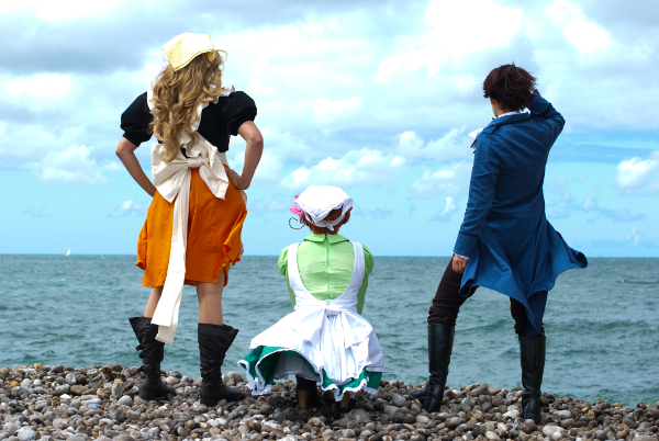 Hetalia - Looking for a new world by Bunnymoon-Cosplay