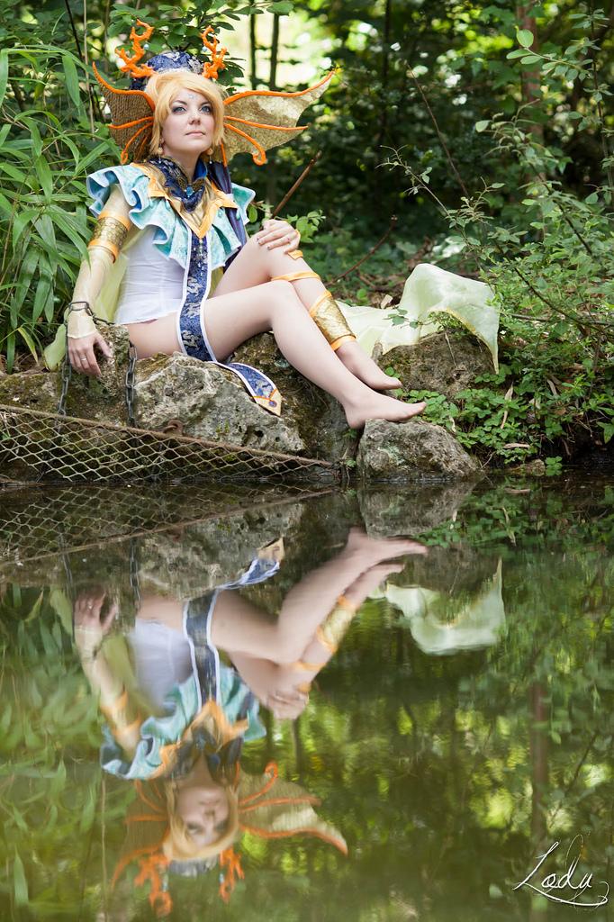 Fushigi Yugi - Yui, Seiryuu priestess by Bunnymoon-Cosplay