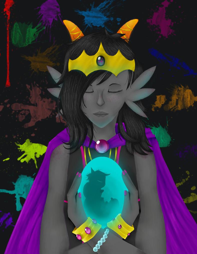 Fuchsia Queen by HornetTheUmbreon