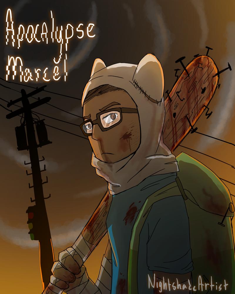 Apocalypse!Marcel by Nightshade-Artist