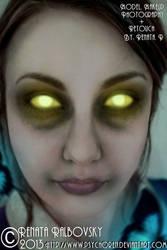 Bioshock's Little Sister by psychoren