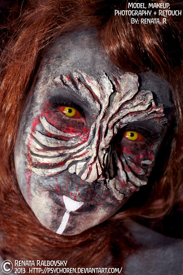 Aztec Zombie Princess by psychoren