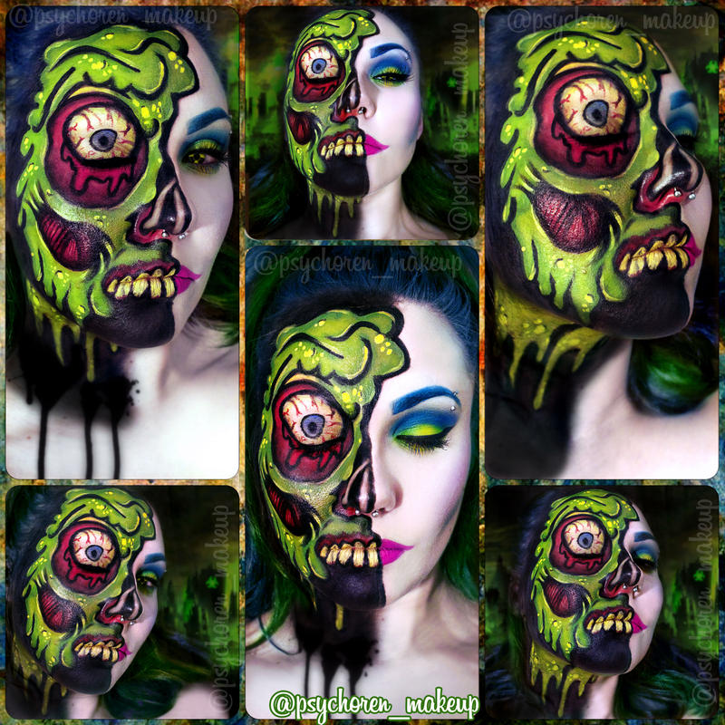 Toxic Cyberpunk Zombie II by psychoren