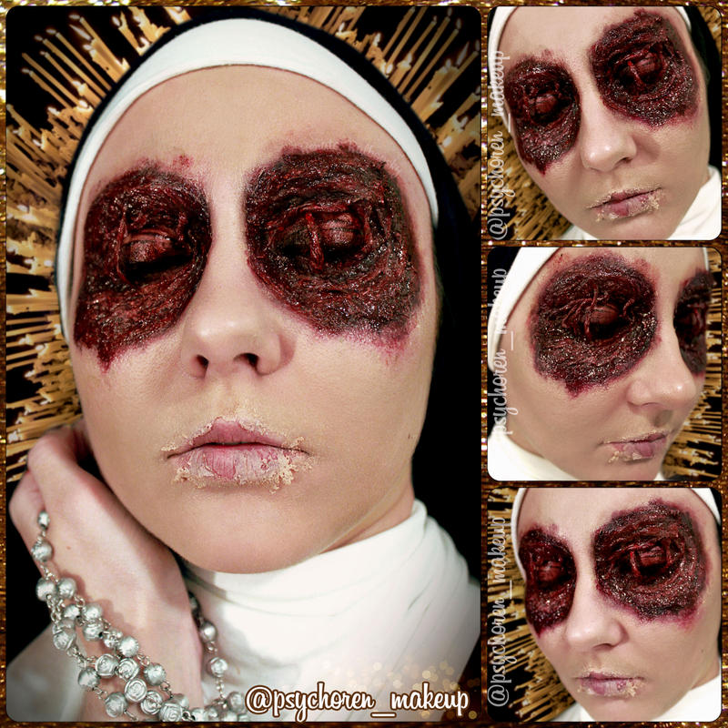 Nun Eyes by psychoren