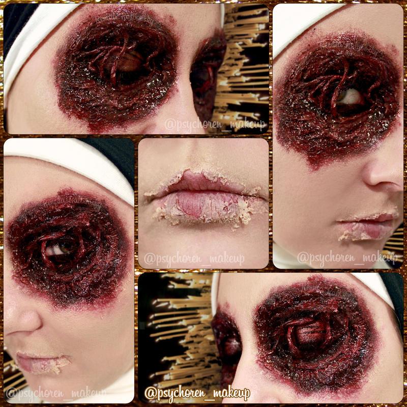 Nun Eyes II by psychoren