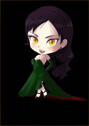 Chibi Vampire by the-laureanne