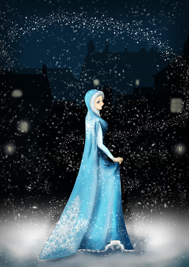 Krolowa Sniegu - Snow Queen by the-laureanne