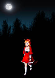 Czerwony Kapturek - Red Ridding Hood by the-laureanne