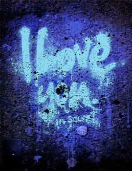 I love you. in secret.