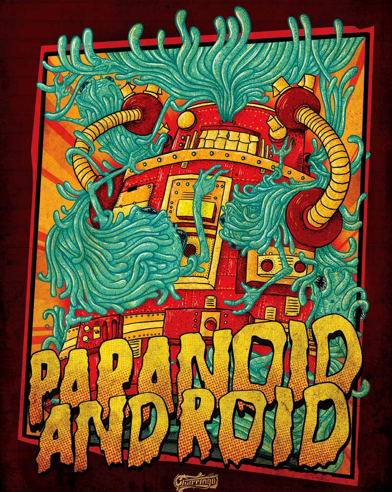 Paranoid Android by CALLit-ringo