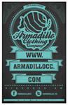 Armadillo Clothing poster