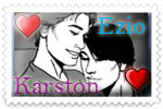 Ezio and Karston Stamp by deppfan85