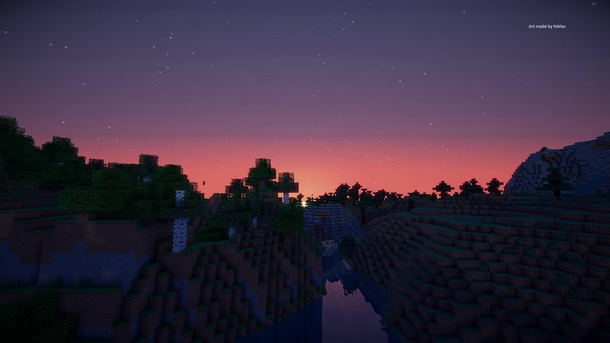 Hd Minecraft Background By Banetm On Deviantart