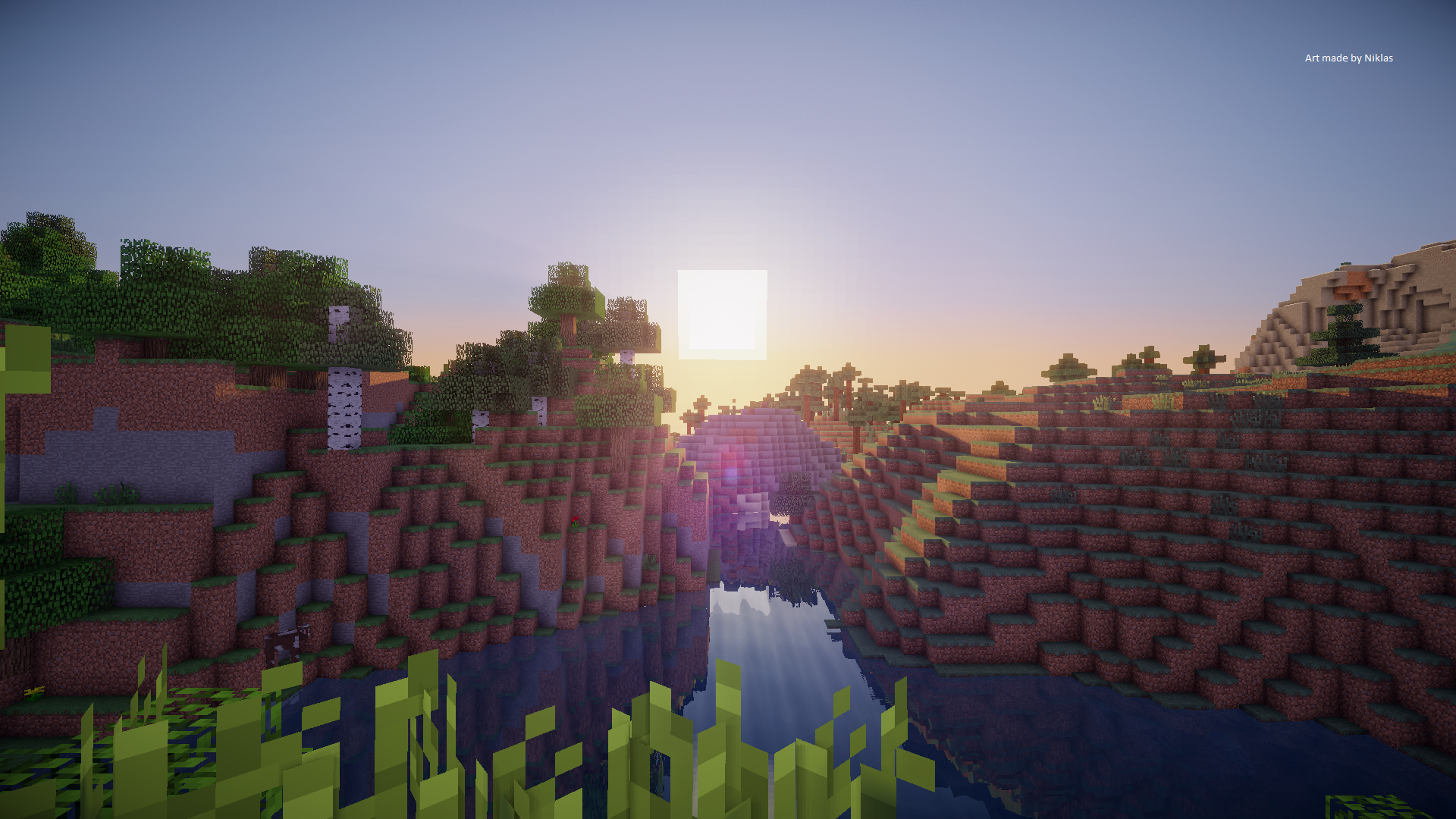minecraft background images hd - photo #13