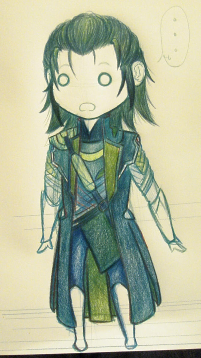 The gallery for --> Anime Loki Laufeyson