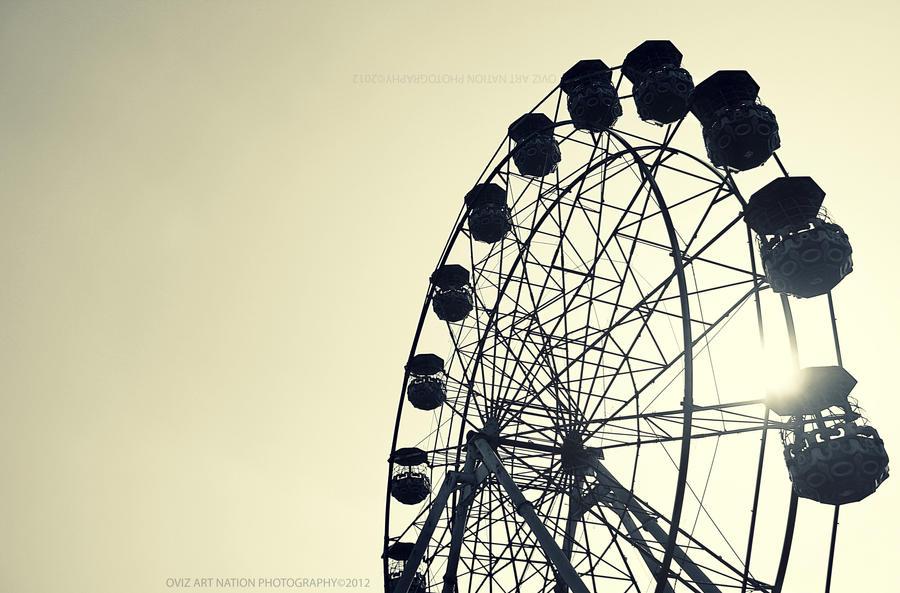 The Wheel by OVIZARTNATION