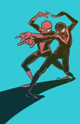 Spider-Man Peter and Miles