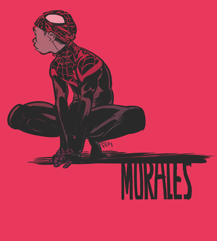 Miles Morales - Spider-Man by PollyGuo