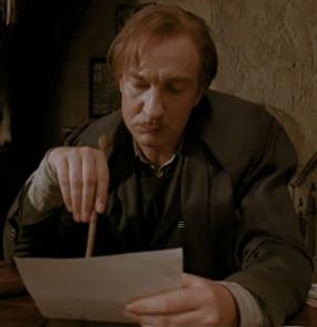 Professor Remus Lupin Wand Key Ring