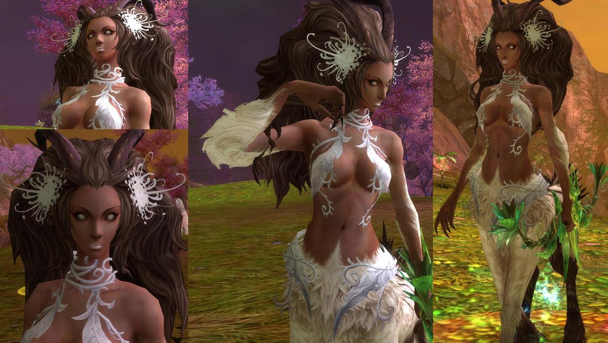 Dark Centaur from Aion by lilena