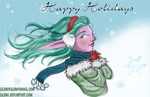 Happy Holidays by lilena