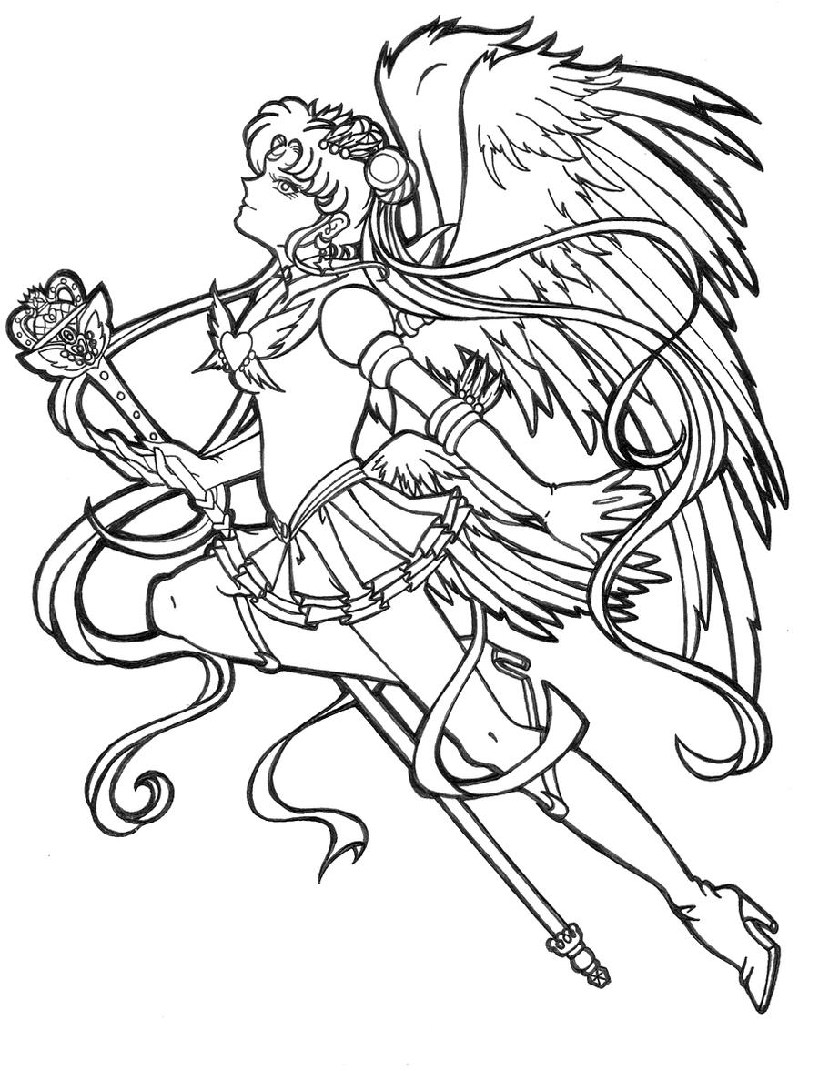 Sailor moon by lilena on deviantart - Coloriage sailor moon ...