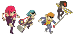Scott Pilgrim - We Can Be Heroes by HelloColdWorld