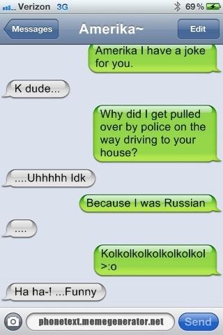 Russia's Joke //Hetalia by GermanSparklePartay