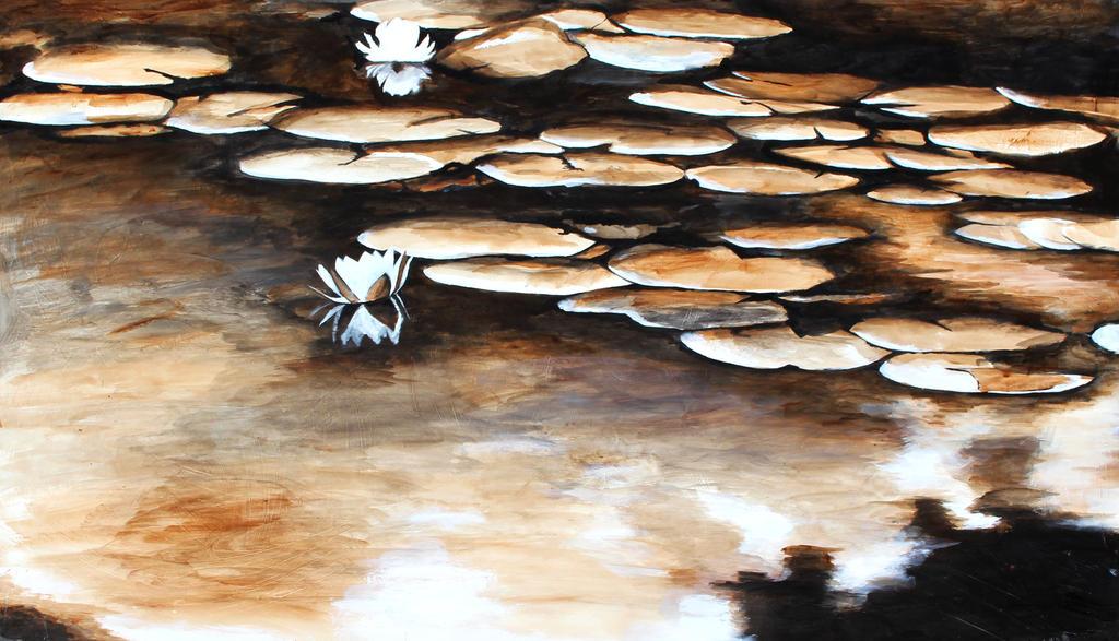 Water lilies by Bidwellpd