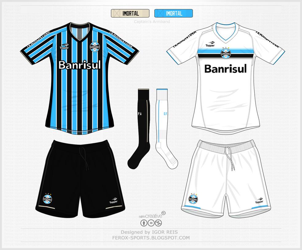 Camisas Gremio Brasileirao 2013 by IGORxREIS