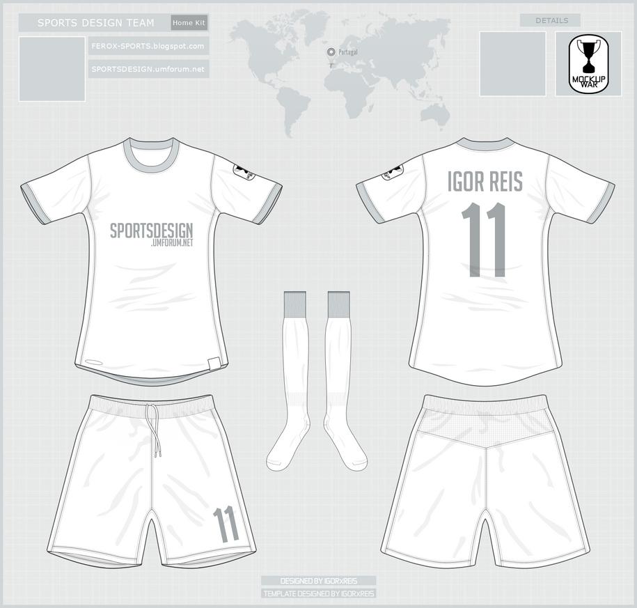 Oficial Template Sports Design MockupWar by IGORxREIS