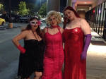 Jessica Rabbit, Marilyn Monroe, and a Goth Girl