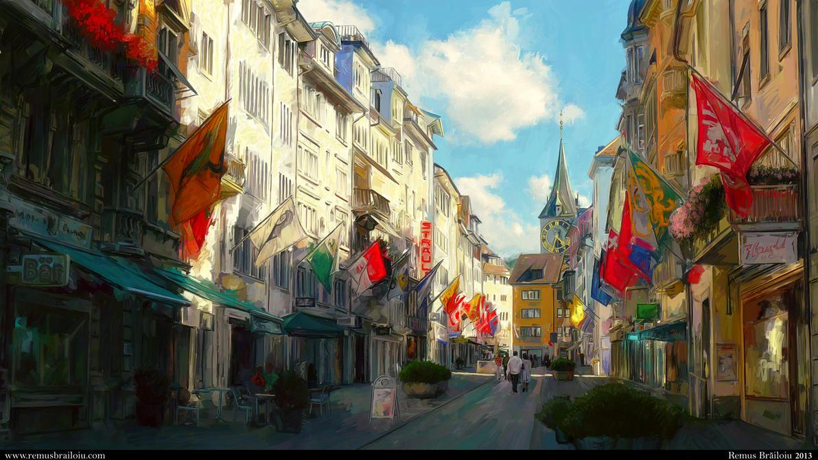 Zurich by Tesparg