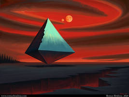 Moon Pyramid by Tesparg