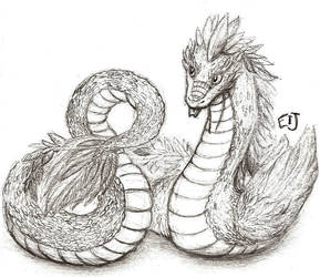 Quetzalcoatl by Cateye-and-Fox