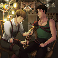 JeanMarco steampunk AU by drlurking