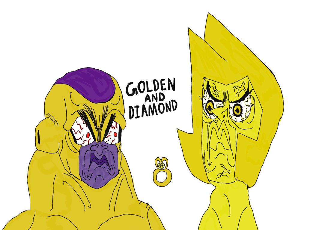 golden frieza yellow diamond perfect wedding ring by mustache