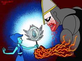 Lapis Lazuli And Sir Peccatori: Shatter the Prison by Mustache-Twirler