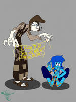 The Thief and the Lapissed off Cobbler by Mustache-Twirler