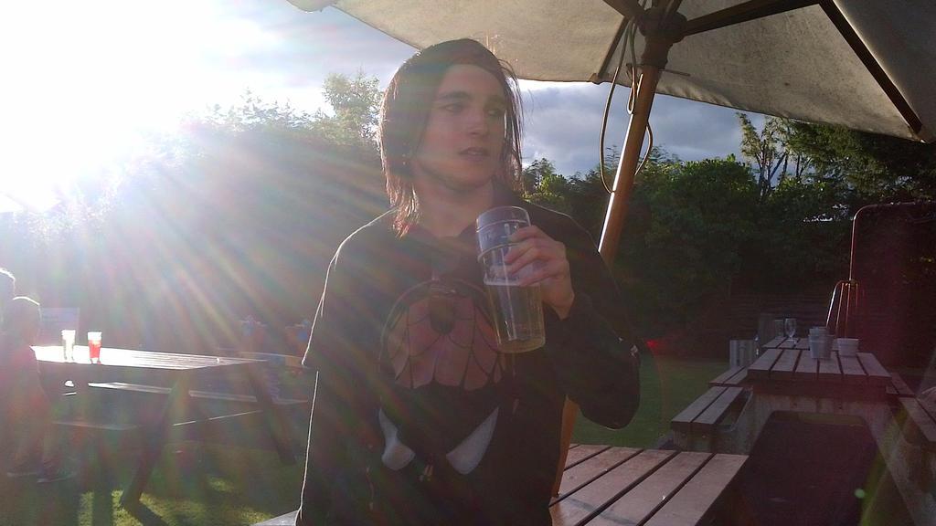 Nice cold pint by mcrmcr666